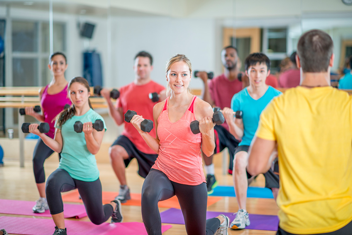 Group Fitness versus Group Personal Training- Are We Really So Different?