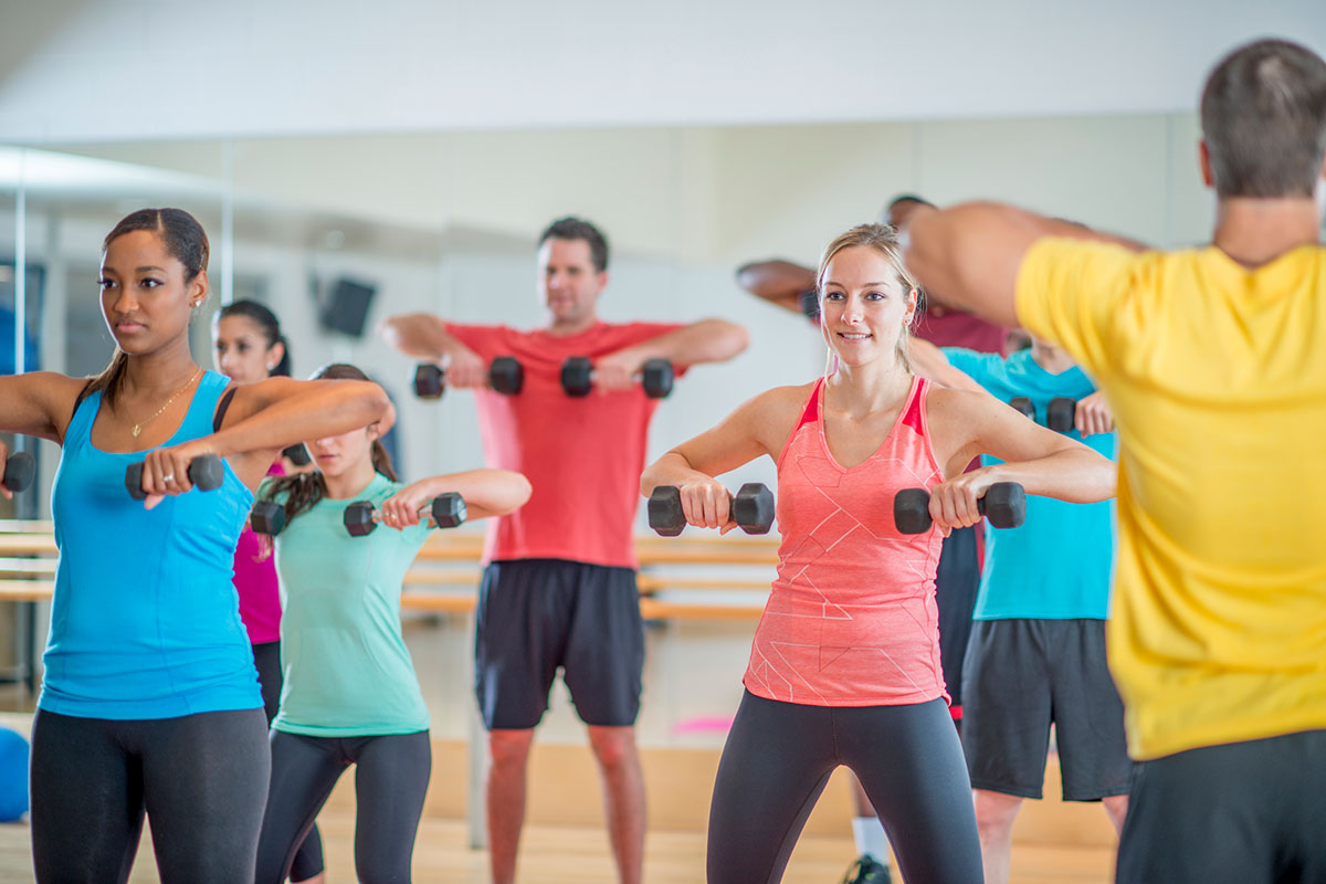 What to Do When a Group Fitness Participant Can't Get the Exercise Technique Down